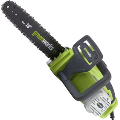 GreenWorks 20022 16 Inch 12 Amp Corded Electric Chainsaw