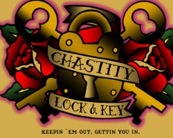 Chastity Lock & Key