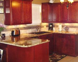 This Company Is One Of The Few Family Owned Local Remodeling Companies That  Offer Top Quality Hardwood Cabinet Refacing And Total Kitchen Redesign.