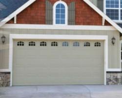 Gold Garage Door