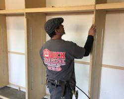 Quick Response Garage Cabinets