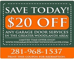 Fix Garage Door The Woodlands Texas